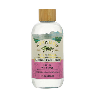 Soothe Alcohol-Free Witch Hazel Toner - Rose