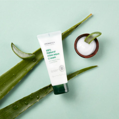 95% Natural Aloe Aqua Cream