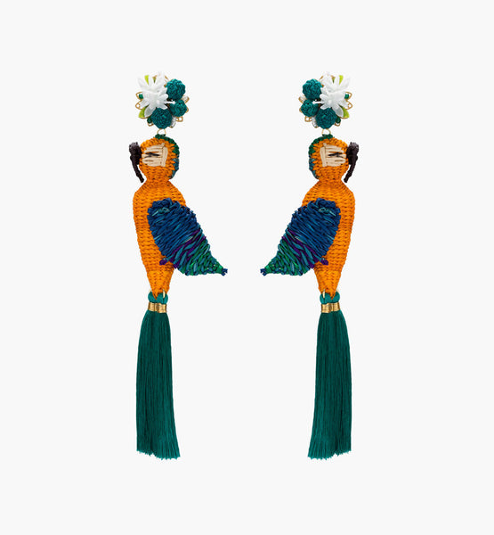 King Guacamaya Earrings