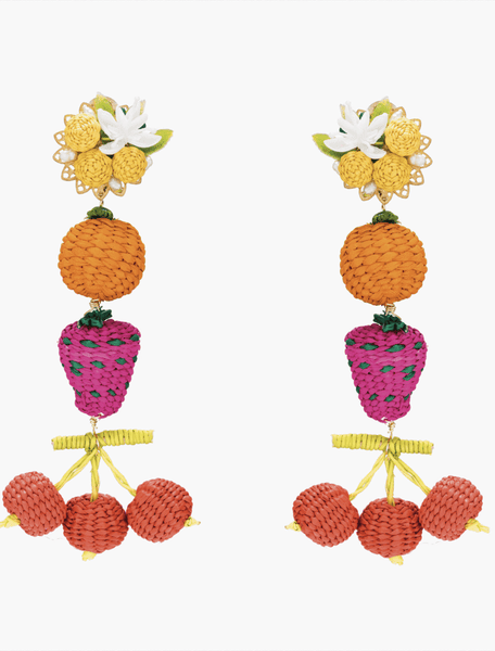 Salpicon de Cereza Earrings