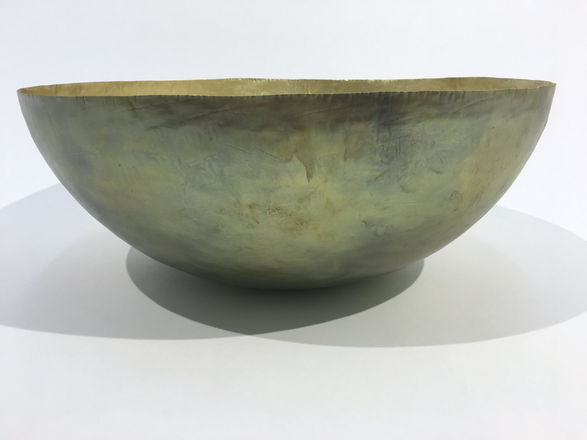 Plain Jane Brass Bowl