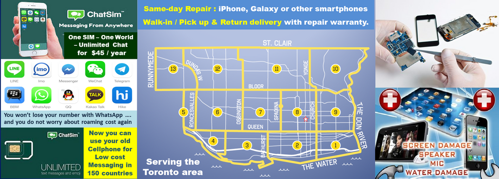 We offer comprehensive wireless repair services