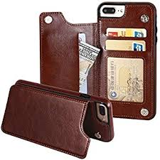 Premium Leather  Slim Fit Card Slots Folio Case
