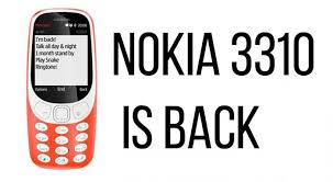 Nokia 3310 classic friendly new phone with keypad