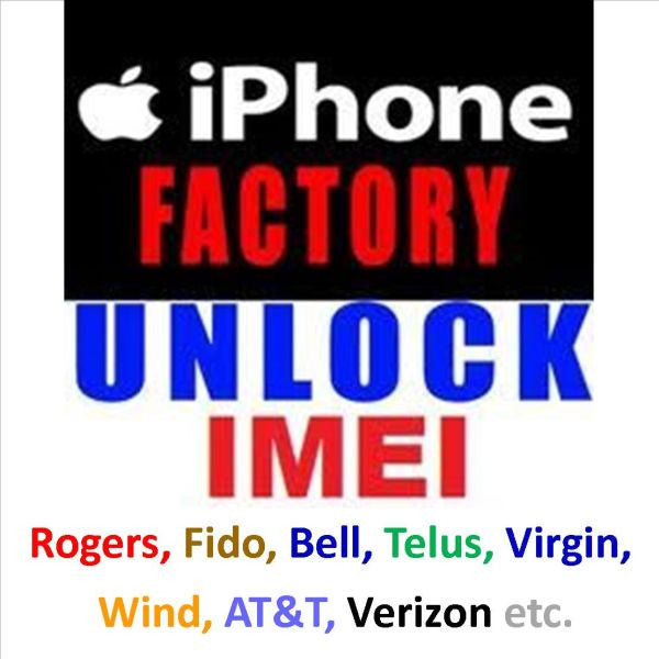 Unlocking service for: iPhone - Galaxy- Android phones