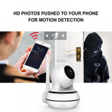 Wireless in-door security IP Camera