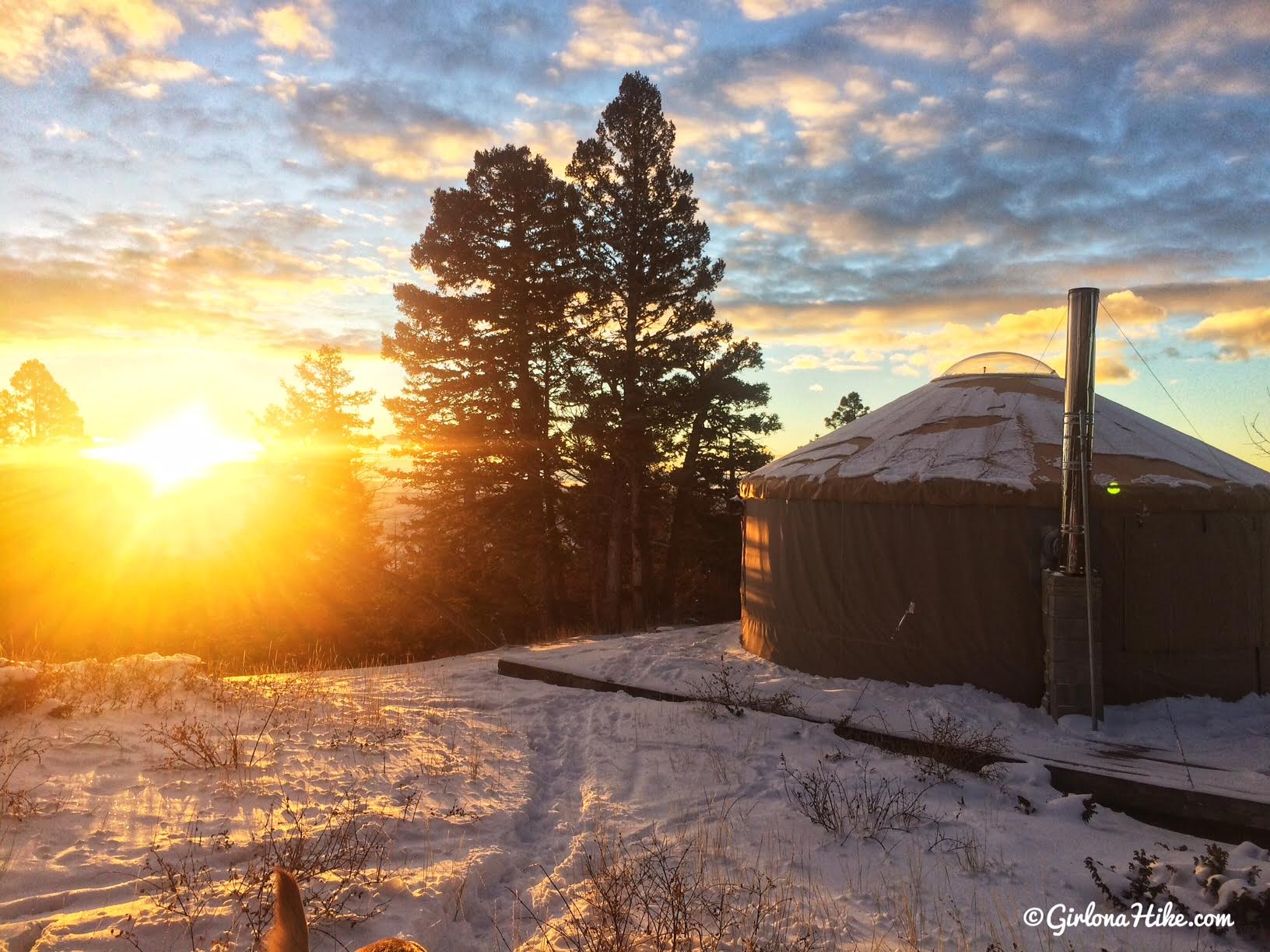 "Make Glamping in a Yurt Your Next Big Adventure, By Alicia ""Girl on a Hike"" Baker"