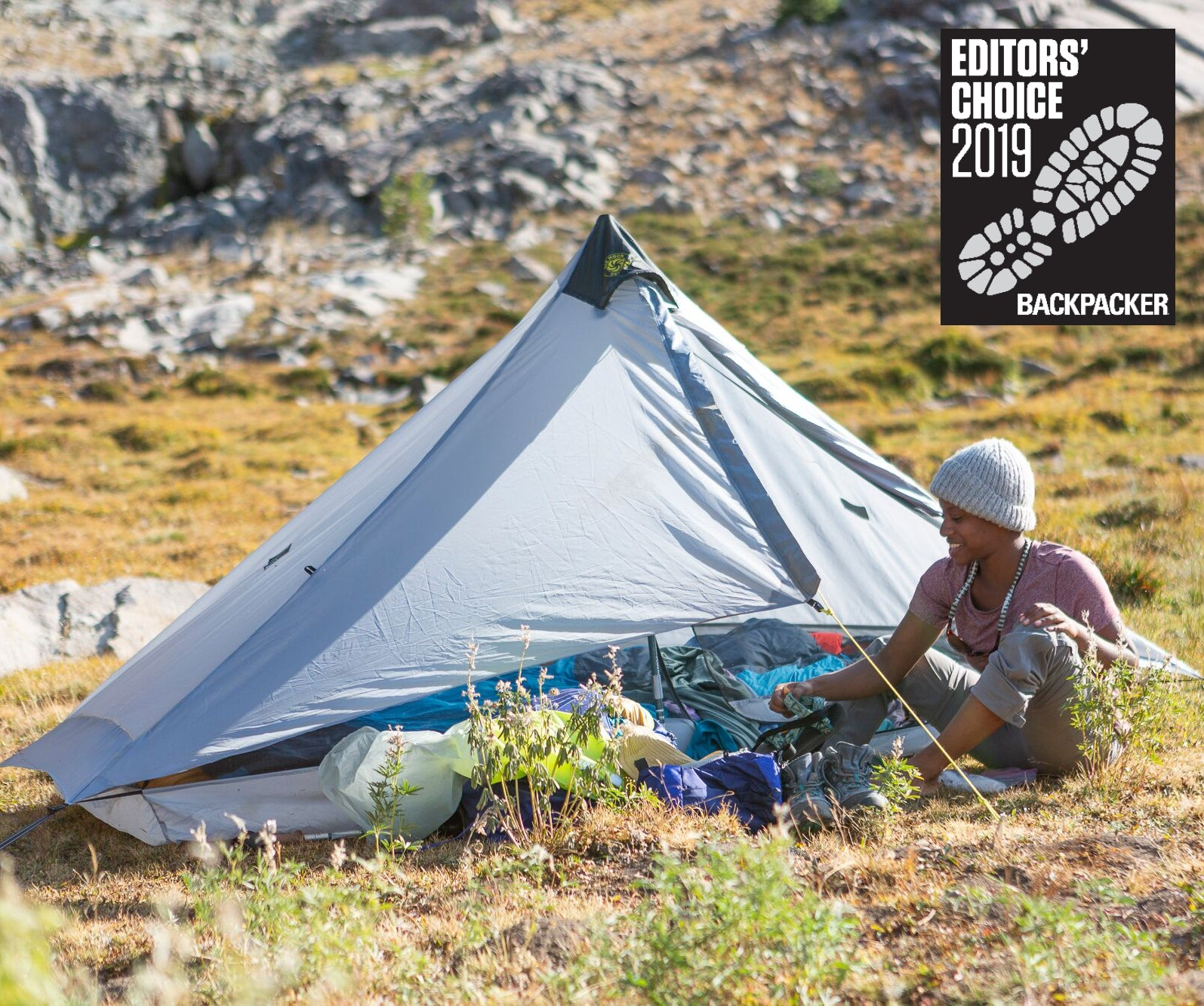 Lunar Solo Wins Backpacker Magazine 2019 Editors' Choice Award