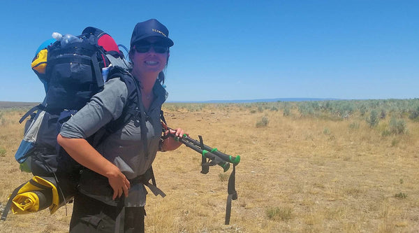 "Renee ""She-Ra"" Patrick Completes Oregon Desert Trail"