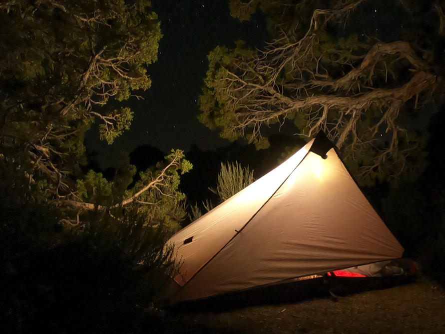 Staying warm while camping in the backcountry By: Jason Huckeba