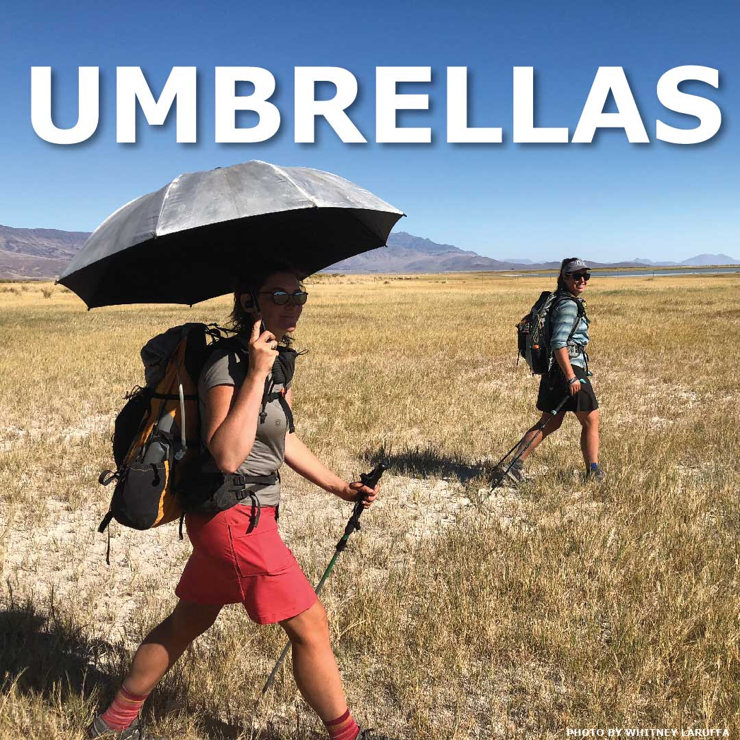 Six Moon Designs Hiking Umbrellas