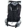 Minimalist Ultralight Backpack rear showing the Vest harness and Hip belt