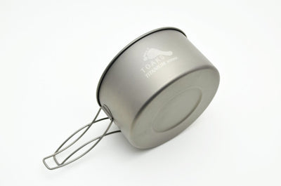 TITANIUM 900ML D130MM POT