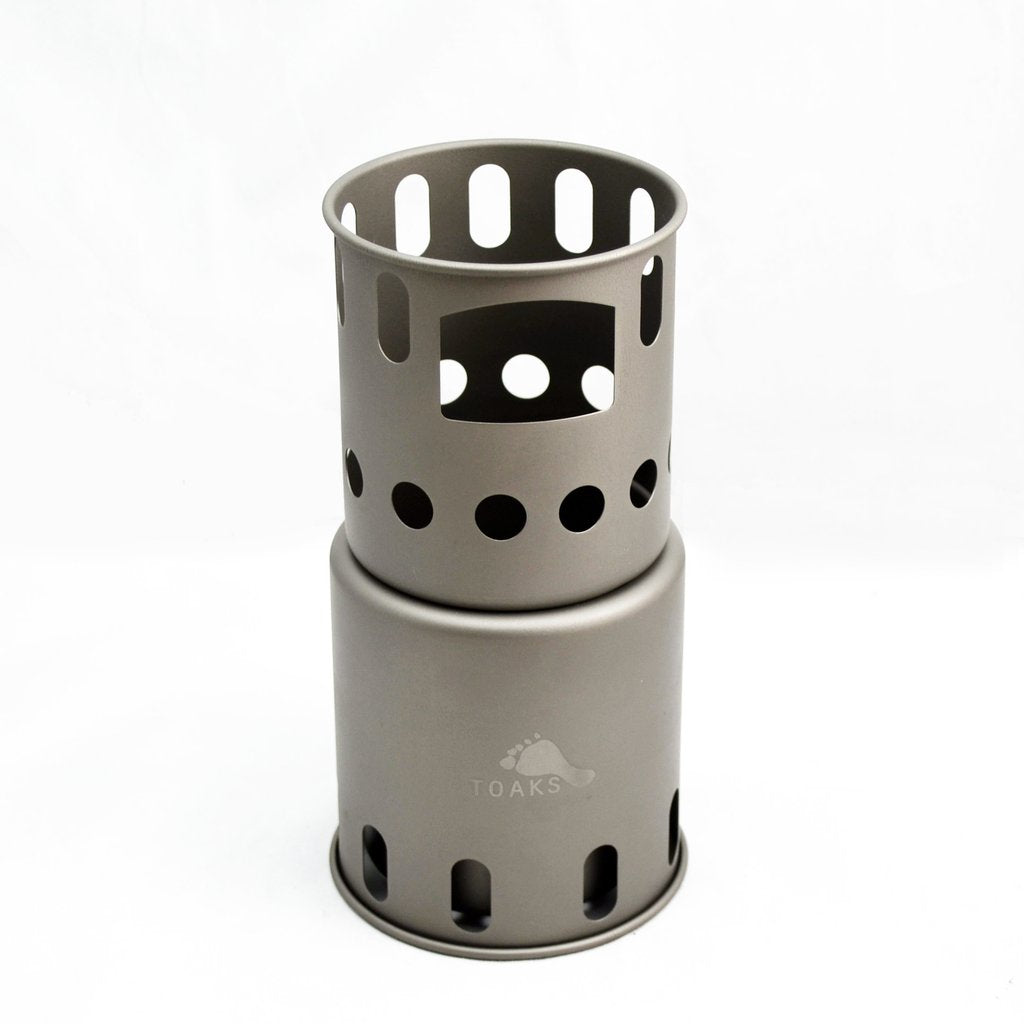 TITANIUM BACKPACKING WOOD BURNING STOVE (SMALL)