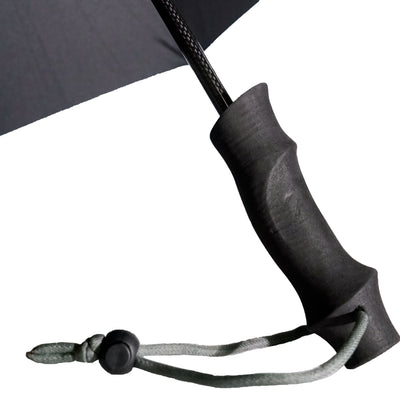 Six Moon Designs Silver Shadow Carbon Fiber Hiking Umbrella close up of handle
