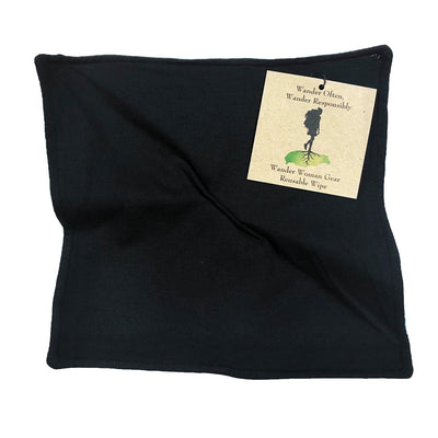 Wander Woman wipe - Soft Bamboo Fabric inside