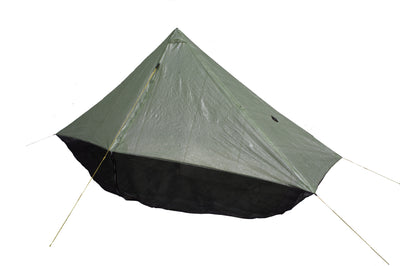 Wild Oasis Zero-G Dyneema Ultralight Tarp With Door Closed
