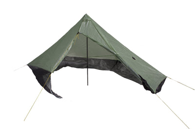 Wild Oasis Zero-G Dyneema Ultralight Tarp With Door Open