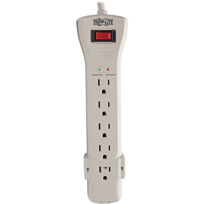 Tripp Lite Surge Protector Power Strip 120V 7 Outlet RJ11 15' Cord 2520 Joules (SUPER7TEL15)