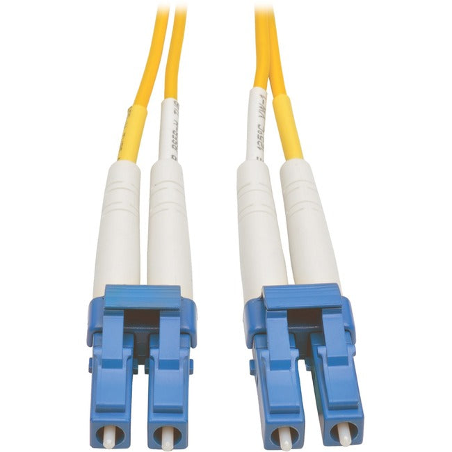 Tripp Lite 10M Duplex Singlemode 8.3/125 Fiber Optic Patch Cable LC/LC 33' 33ft 10 Meter (N370-10M)