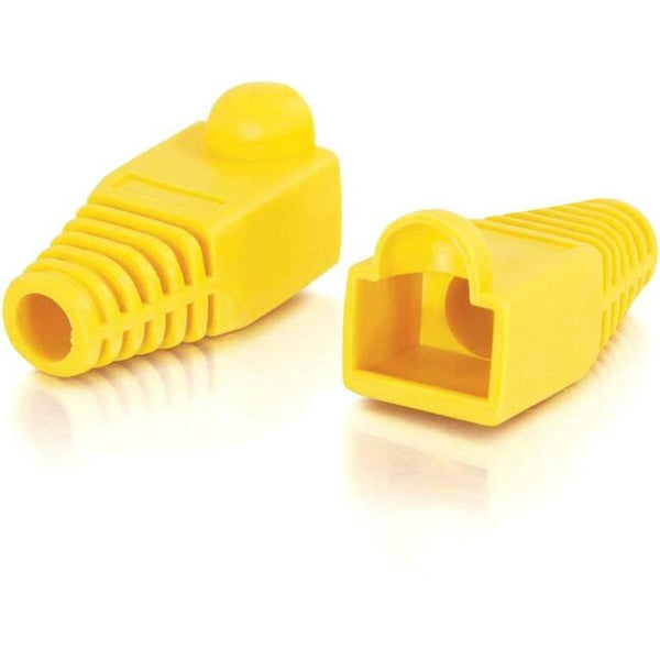 C2G C2G RJ45 Snagless Boot Cover (6.0mm OD) - Yellow - 50pk (04756)