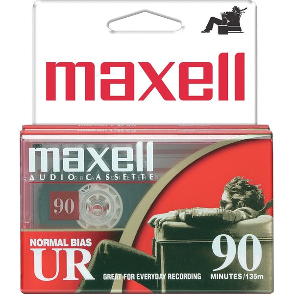 Maxell Maxell 90 Min Normal Bias Audio Cass - 2 Pk Nov Eta 86 (108527)