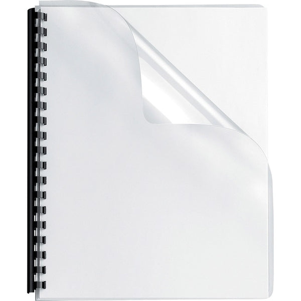 Fellowes Crystals™ Clear PVC Covers - Oversize, 100 pack (52311)