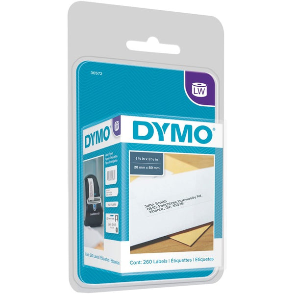 Dymo LabelWriters Continuous Roll Address Labels (30572)