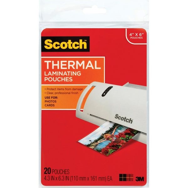 Scotch Thermal Laminating Pouches (TP5900-20)