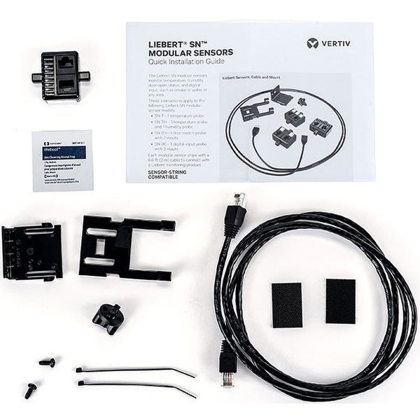 Vertiv Liebert SN Sensor Single Modular Temperature and Humidity Probe (SN-TH)