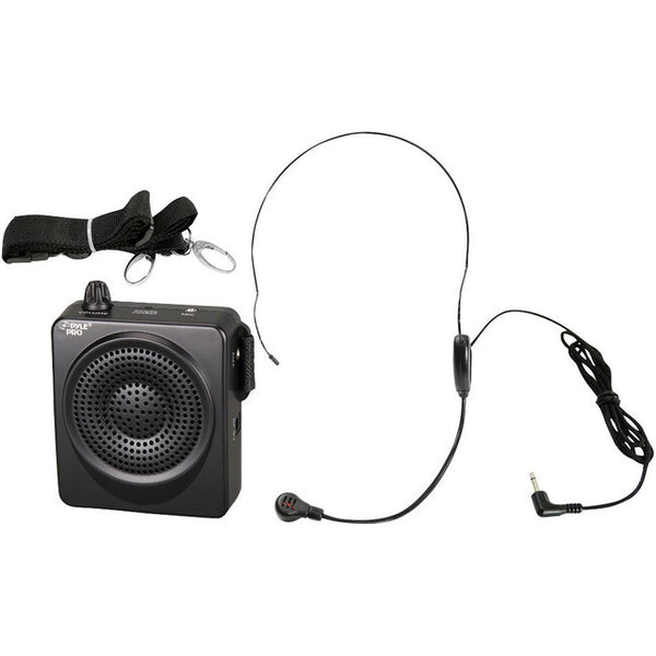Pyle Audio - Home 50W Portable Waist-Band Pa Syst W/ A Headset Mic Blk (PWMA50B)