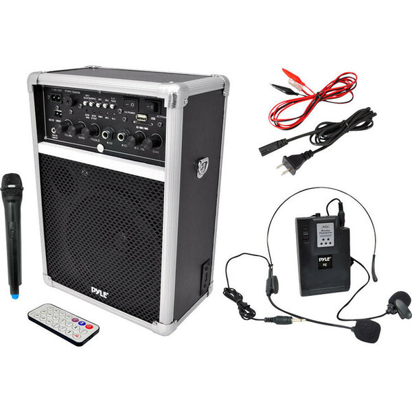 Pyle Audio - Home Dual Channel 400W Wl Pa Syst W/ Usb/Sd/Mp3 6In Full Range Spkr (PWMA170)