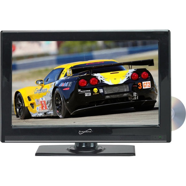 "Supersonic 22"" 1080p LED TV/DVD Combination, AC/DC Compatible with RV/Boat (SC-2212)"