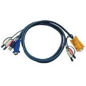 ATEN TECHNOLOGIES Aten KVM Cable with Audio (2L5303U)