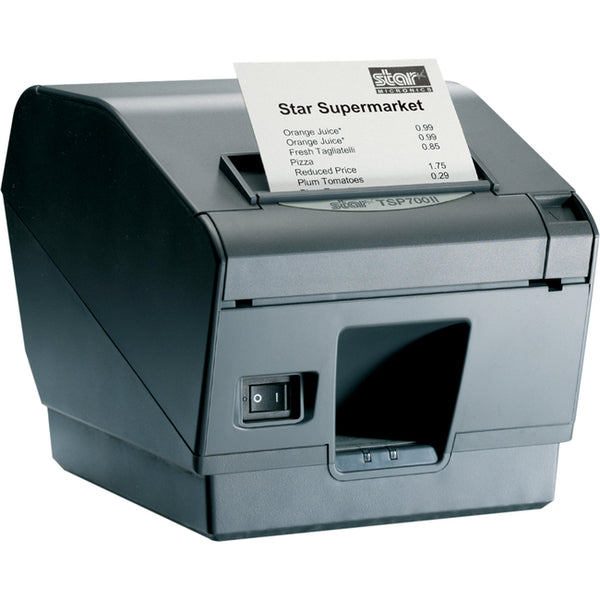 Star Micronics TSP743IIU-24GRY Direct Thermal Printer - Monochrome - Wall Mount - Receipt Print (39442511)