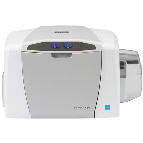 Fargo DTC1250e Single Sided Dye Sublimation/Thermal Transfer Printer - Color - Desktop - Card Print (050605)