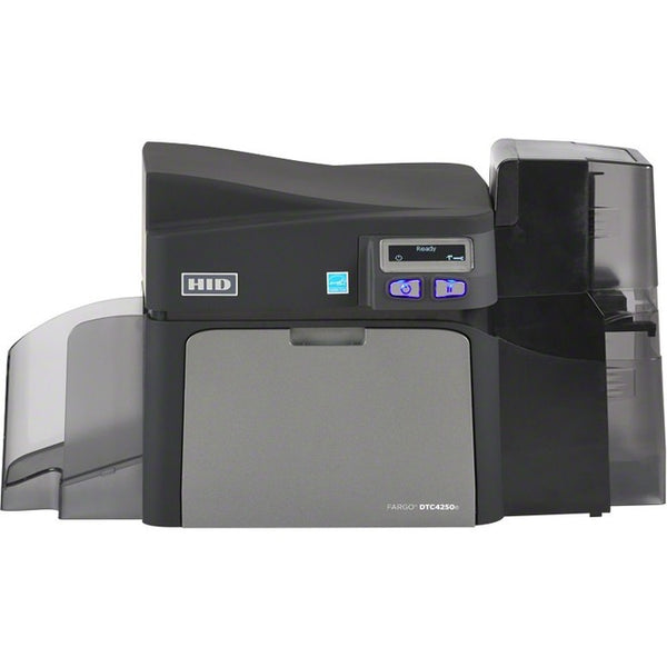 Fargo DTC4250e Double Sided Dye Sublimation/Thermal Transfer Printer - Color - Desktop - Card Print