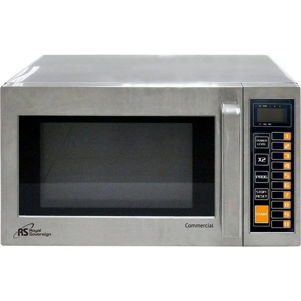 Royal Sovereign International Commercial Microwave Oven Commercial Grade Stainless Steel (RCMW1000-25SS)