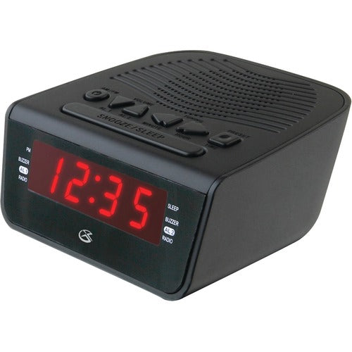 Dpi Inc/Gpx-Personal & Portable Clock Radio Am/Fm Dual Alarm Wake To Radio Or Buzzer (C224B)