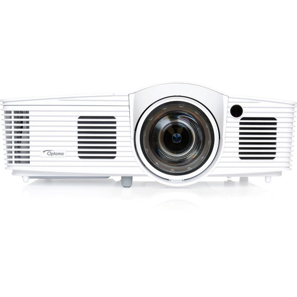 Optoma EH200ST Full 3D 1080p 3000 Lumen DLP Short Throw Projector with 20,000:1 Contrast Ratio and MHL Enabled (EH200ST)