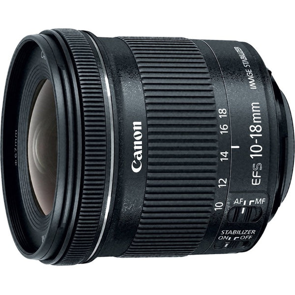 Canon-Photo Video Ef-S Ultra-Wide Zoom Lens Ef-S10-18Mm F4.5-5.6 Is Stm (9519B002)