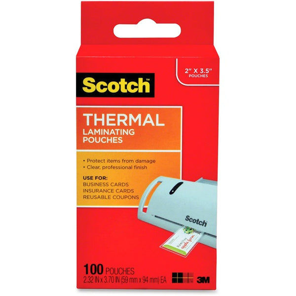 Scotch Thermal Laminating Pouches (TP5851-100)