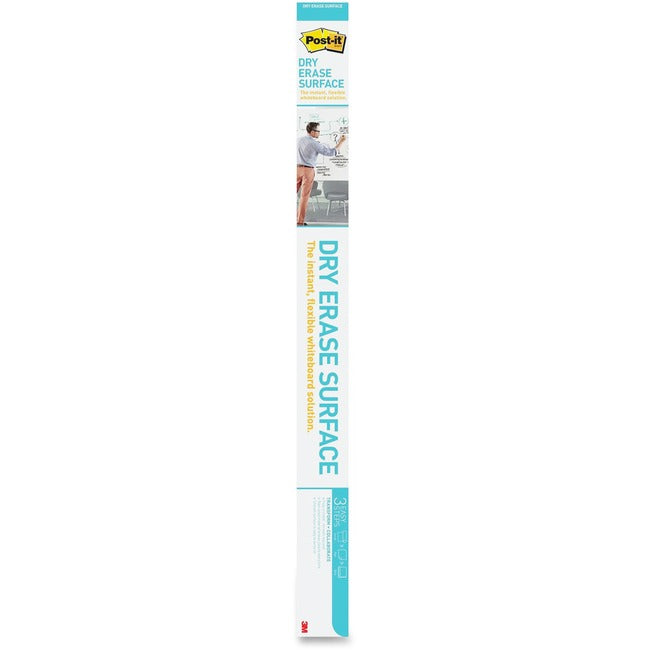 3M - WORKSPACE SOLUTIONS Post-it Self-Stick Dry Erase Film Surface, 48 x 36, White (DEF4X3)