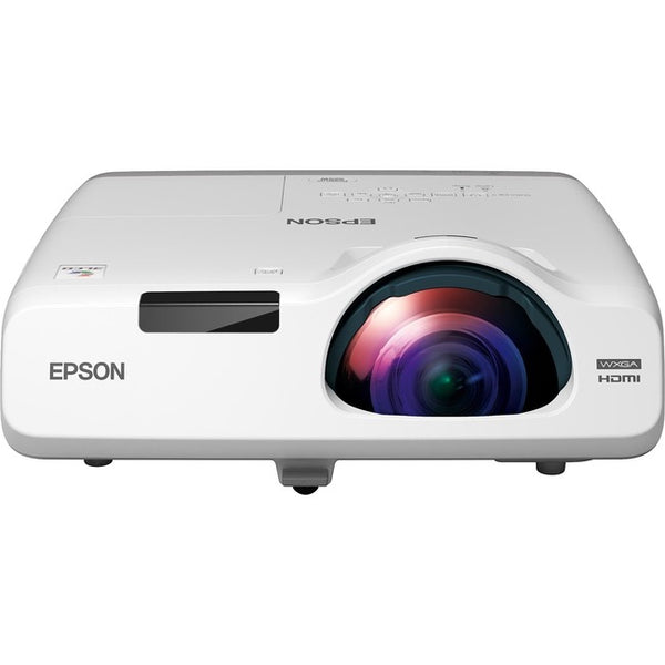 Epson PowerLite 535W Short Throw LCD Projector - 16:10 - White (V11H671020)