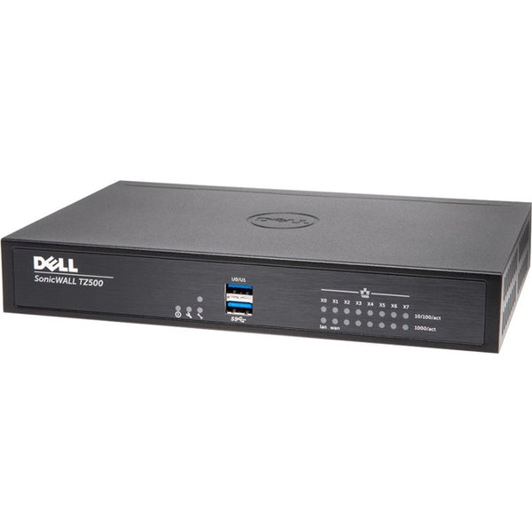 SONICWALL TZ500 WITH 8X5 SUPPORT 1YR (01-SSC-0425)
