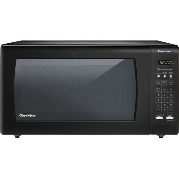 Panasonic-Small Appliances 1.6 Cuft Microwave Oven Inverter Technology Black (NN-SN736B)