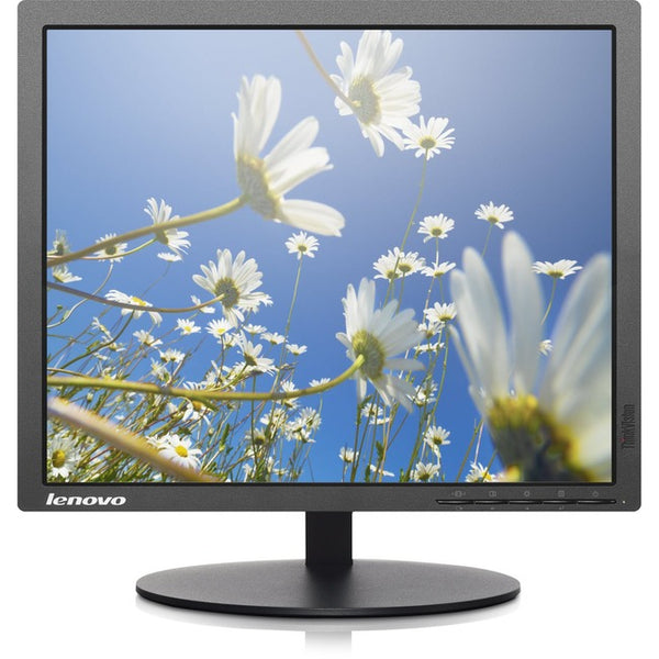 "LENOVO - CORPORATE MONITORS Lenovo ThinkVision T1714p 17"" SXGA LED LCD Monitor - 5:4 - Raven Black (60FELAR1US)"
