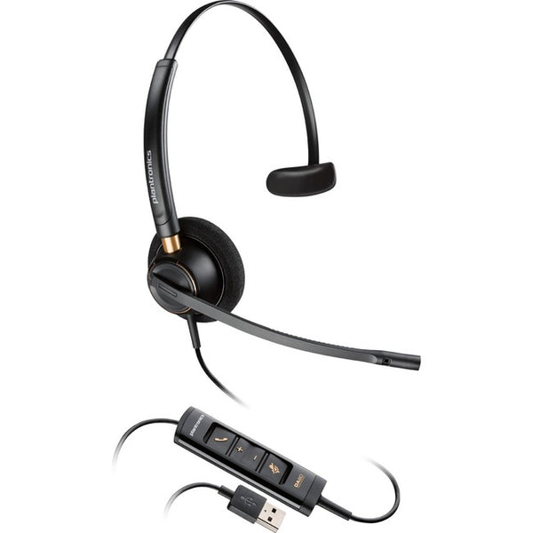 Plantronics Corded Headset with USB Connection (203442-01)