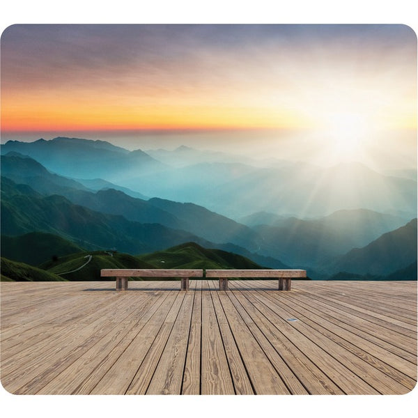 FELLOWES Fellowes Recycled Mouse Pad - Mountain Sunrise (5916201)