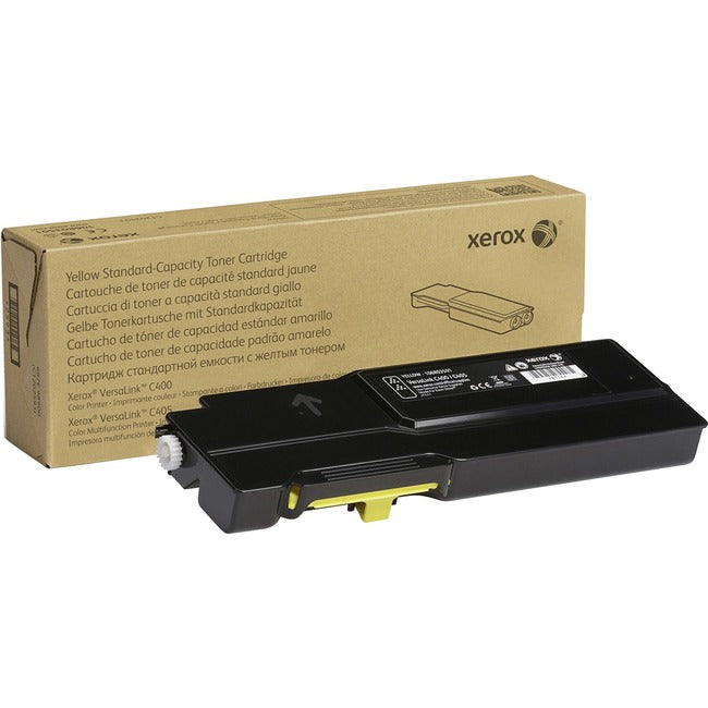 XEROX SUPPLIES Xerox Toner Cartridge - Yellow (106R03501)